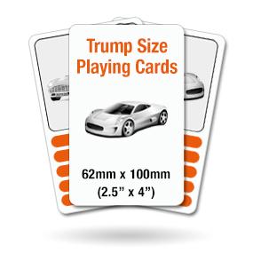 Trump Size Cards