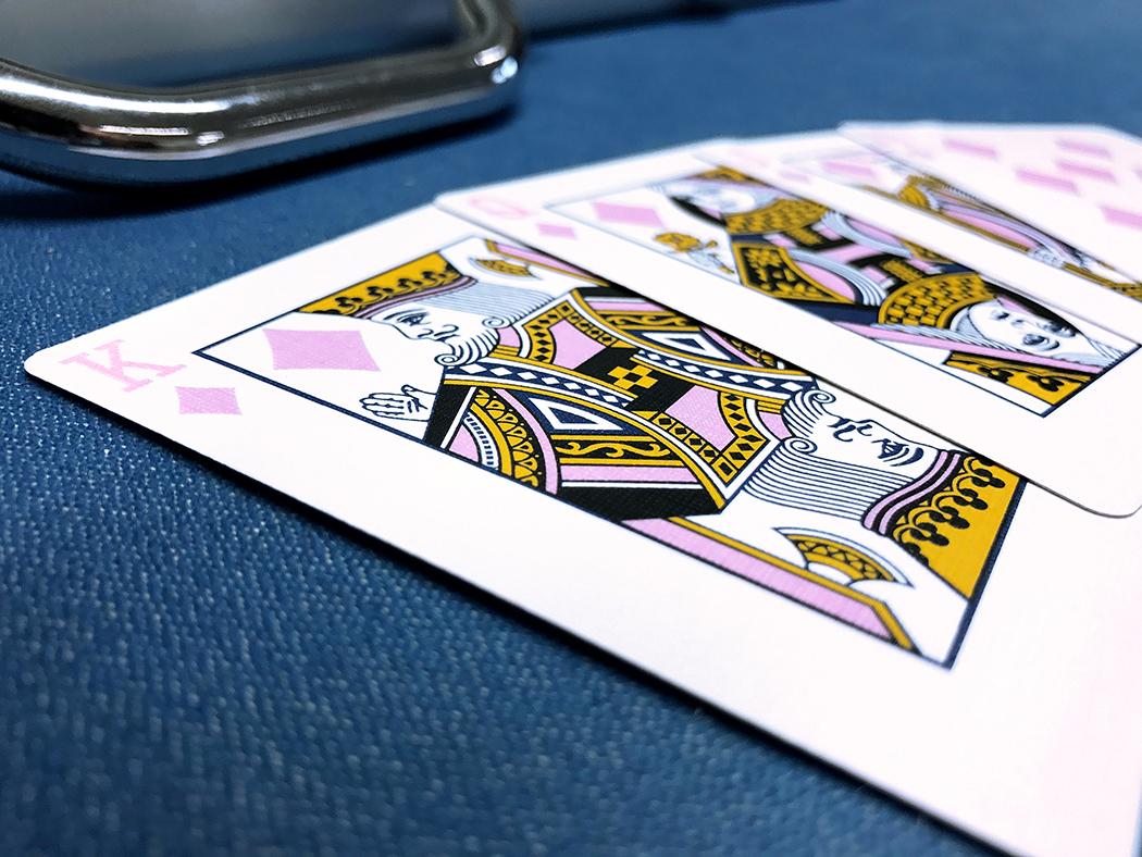 Q-Boy Pink Cards